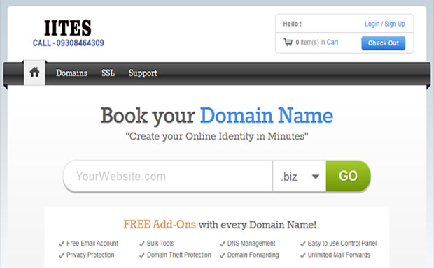 Domain Name Registration, Domain Registrars in Ranchi